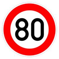 80 verkehrszeichen
