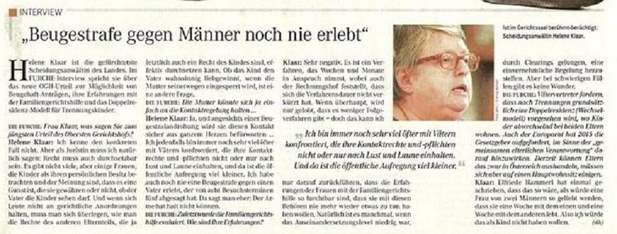 Helene Klaar Interview Furche groß